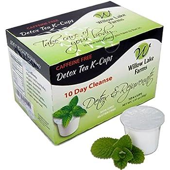 Amazon Com Total Tea Detox Tea Kcup 12 Count Herbal