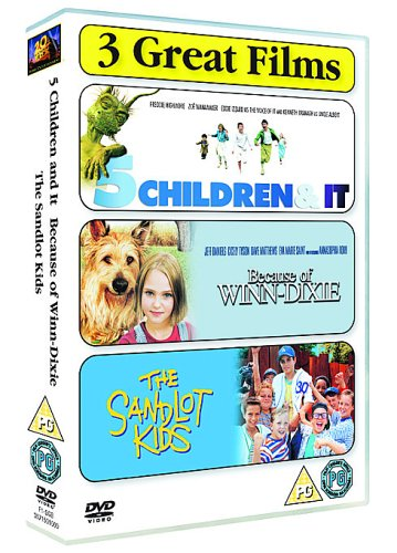 family-triple-because-of-winn-dixie-the-sandlot-5-children-import-anglais
