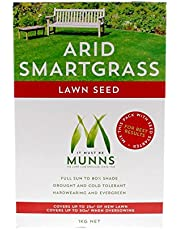 Lawn Seed Arid Smartgrass Munns 1kg Evergreen Versatile Drought Tolerant