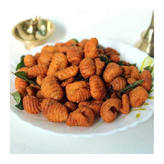 SITARA FOODS - Spicy Karam Gavvalu / Hot Gavvalu (Home Made Andhra Style) 250 Grams