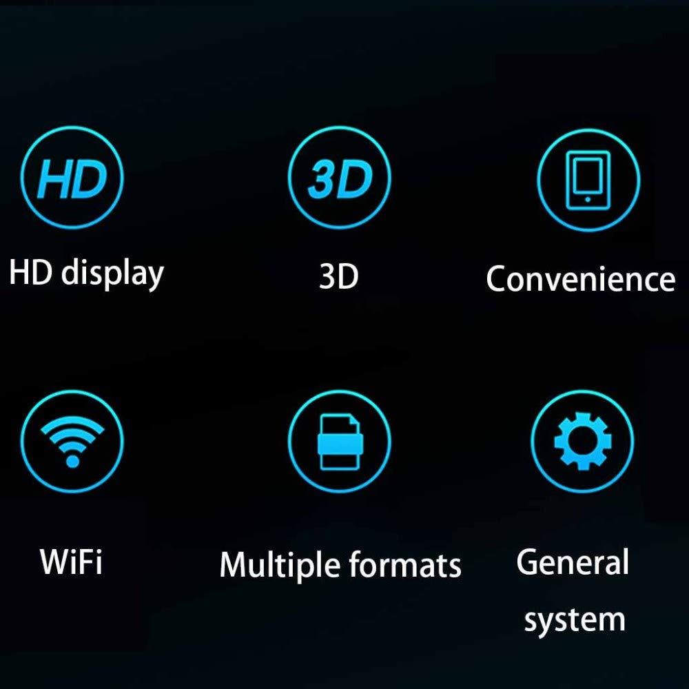 MIEDTY 3D Holographic Projector,52Cm Conexión Wifi Ángulo de ...