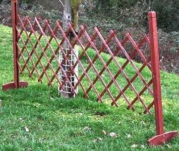 Freestanding Expanding Wooden Fence Garden Trellis/ New