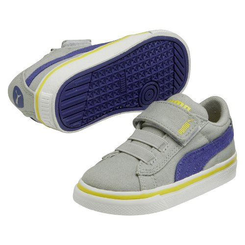 Puma S Canvas Vulc V Kids 35641602, Baskets Mode Enfant
