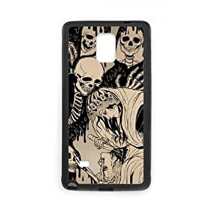 Custom Cell Phone Case for Samsung Galaxy Note 4 with Skull shsu_1998713 at SHSHU by lolosakes