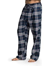 8314831238 CYZ Men s 100% Cotton Super Soft Flannel Plaid Pajama Pants