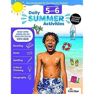 Evan-Moor Daily Summer Activities, Grade 5-6