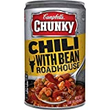 Campbell's Chunky Chili, with Bean Roadhouse, 19 Ounce (Pack of 12) (Packaging May Vary)