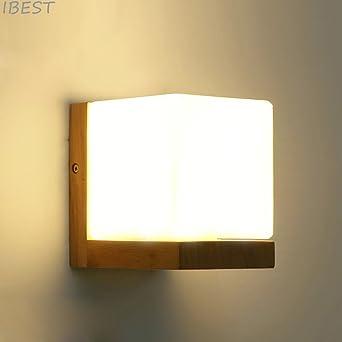 IBEST- Wandleuchte Beleuchtung Loft Modern E27 Edison LED Wandlampe ...