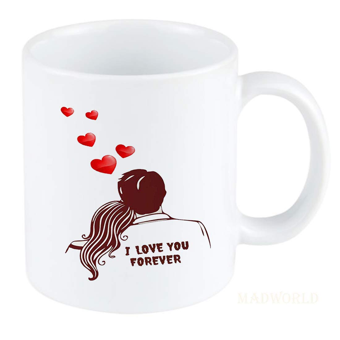Buy Couple Love You Forever Best Attractive Couple Love Quotes Printed White Coffee Milk Mug Best Gift For Birthday For Friends Girlfriend Valentine Day Online At Low Prices In India Amazon In