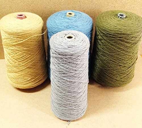 Yarn Place New Zealand Wool Yarn Felted Knits Tapestry Rugs Hats Mixed Color Lot #303 (Wool Tapestry Silk)