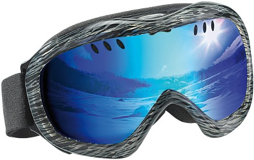 Speeron Superleichte Hightech-Ski- & Snowboardbrille inkl. Hardcase