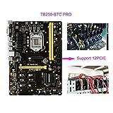 BIOSTAR TB250-BTC PRO 12 GPU LGA1151 Intel B250 SATA 6Gb/s USB 3.0 ATX Intel Motherboard