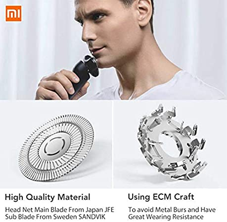 Xiaomi Mijia - Afeitadora eléctrica con 3 cabezales Flex afeitado ...