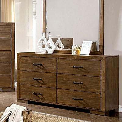 Bairro Reclaimed Pine Finish Bedroom Dresser