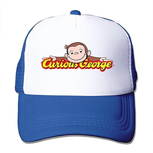 Fashion Curious George Adult Nylon Adjustable Leisure Hat