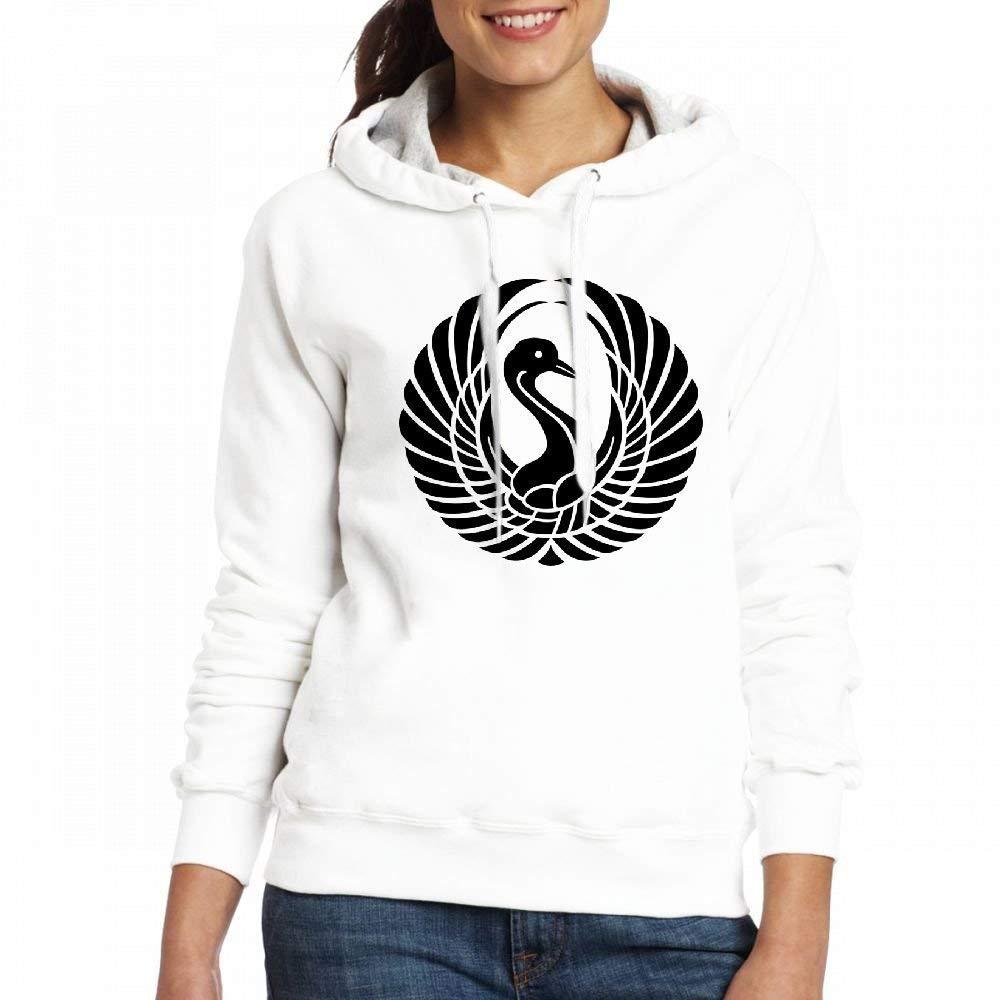YYcustom Sweatshirt Hoodie Elegant Swan Hoodies Sweatshirt