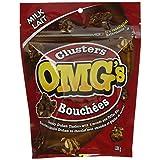 OMG's Milk Chocolate Clusters, 135g
