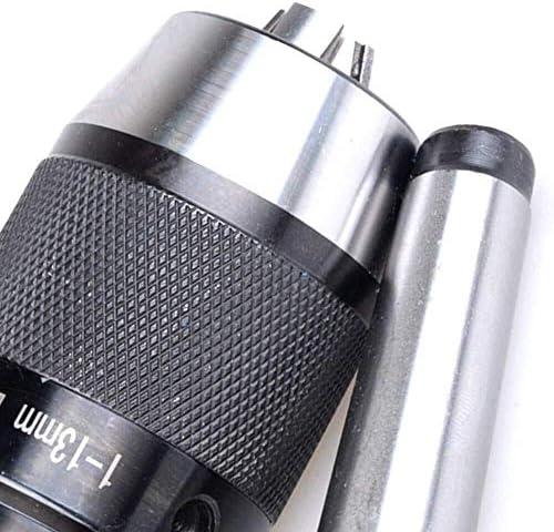 HYY-YY MT2 B16 Keyless Drill Chuck Self Tighten B16 (1-13Mm) Shank Morse Taper Shank 2 Hand Tightening Drill Chuck