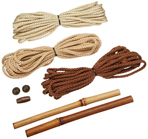 Pepperell MMNOK Mini Macrame Natural Owl Kit ()