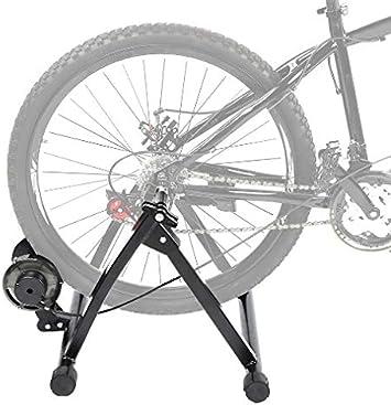 Rodillo de Bicicleta Rodillo Bicicleta Entrenador de Bicicleta de Acero Ejercicio Soporte magnético Entrenador de Bicicleta Entrenador de Rodillo de ...