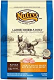 NUTRO Large Breed Adult Chicken, Whole Brown Rice and Oatmeal Dog Food, 30 lbs.