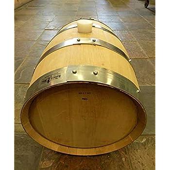 20 Gallon Wine Barrel Solid Oak By Wine