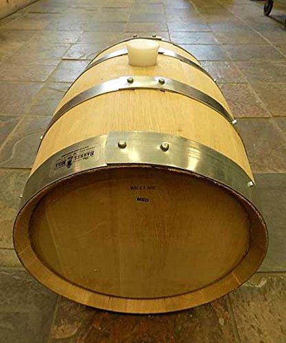 5 gallon oak wine barrel - 6