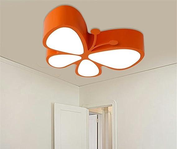 BRIGHTLLT Mariposa LED Luz Lámpara de techo de dibujos ...