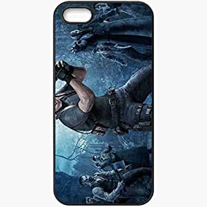Personalized iPhone 5 5S Cell phone Case/Cover Skin Resident Evil 4 Black