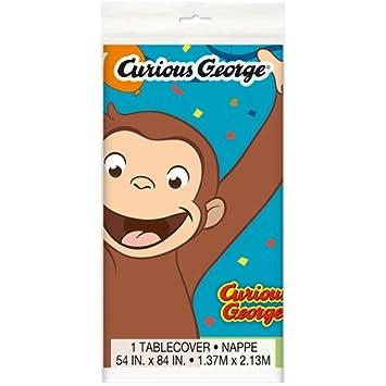 b9a8f28e38422 おさるのジョージ テーブルクロス UNIQUE キュリアスジョージ テーブルカバー パーティー Curious George 誕生日 誕生