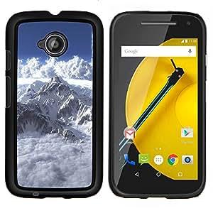 - Mont Blanc For Motorola Moto E 2nd Generation Duro Snap en el tel???¡¯???€????€?????fono celular de la cubierta @ Cat Family