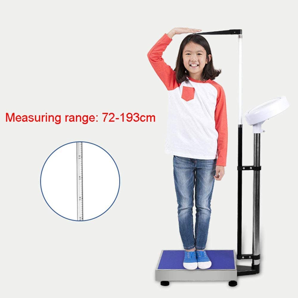 lqgpsx Height and weight scales, precision electronic scales, digital high-definition LCD display, accurate measurement 70-190cm Charging