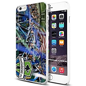 diy zhengSoccer MLS Seattle Sounders FC ,Cool iphone 5c Smartphone Case Cover Collector iphone TPU Rubber Case White