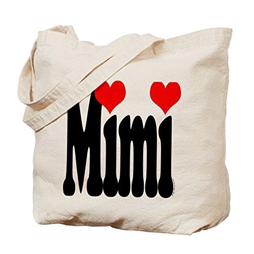 CafePress–I Love Mimi–Borsa di tela naturale, panno borsa per la spesa