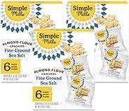 Simple Mills, Snacks Variety Pack, Fine Ground Sea Salt