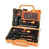 Jakemy JM-8139 45 in 1 Household Maintenance Screwdriver Set Hardware Tool kit for Household Cellphone Laptop Electronics