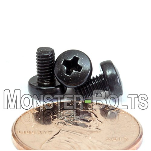 M3 / 3mm x 0.50 - Qty 10 - Metric Phillips Pan Machine Screw