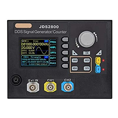 RollingBronze JDS2800 60MHz Signal Generator Digital Control Dual-Channel DDS Arbitrary Frequency Meter