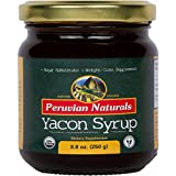 Cheap Organic Yacon Syrup 8.8oz (250g) – Peruvian Naturals | Low-glycemic, Low-Calorie Sweetener for Weight Loss