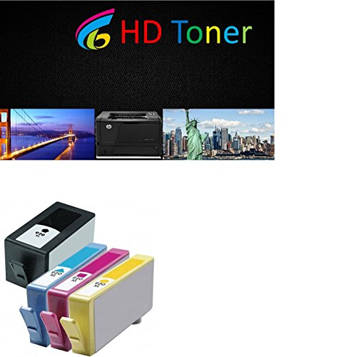 HD Toner Ink Cartridge Replacement for HP 920xl Ink Cartridges High Capacity Compatible with HP Officejet 6500 6000 7000 7500 7500A 6500A E709 Printer