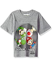 Boys' Super Mario Here We Go Run T-Shirt