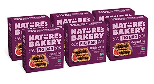 - Nature's Bakery Whole Wheat Fig Bars, 6- 6 Count Boxes of 2 oz Twin Packs (36 Packs), Original Fig, Vegan, Non-GMO, Packaging May Vary