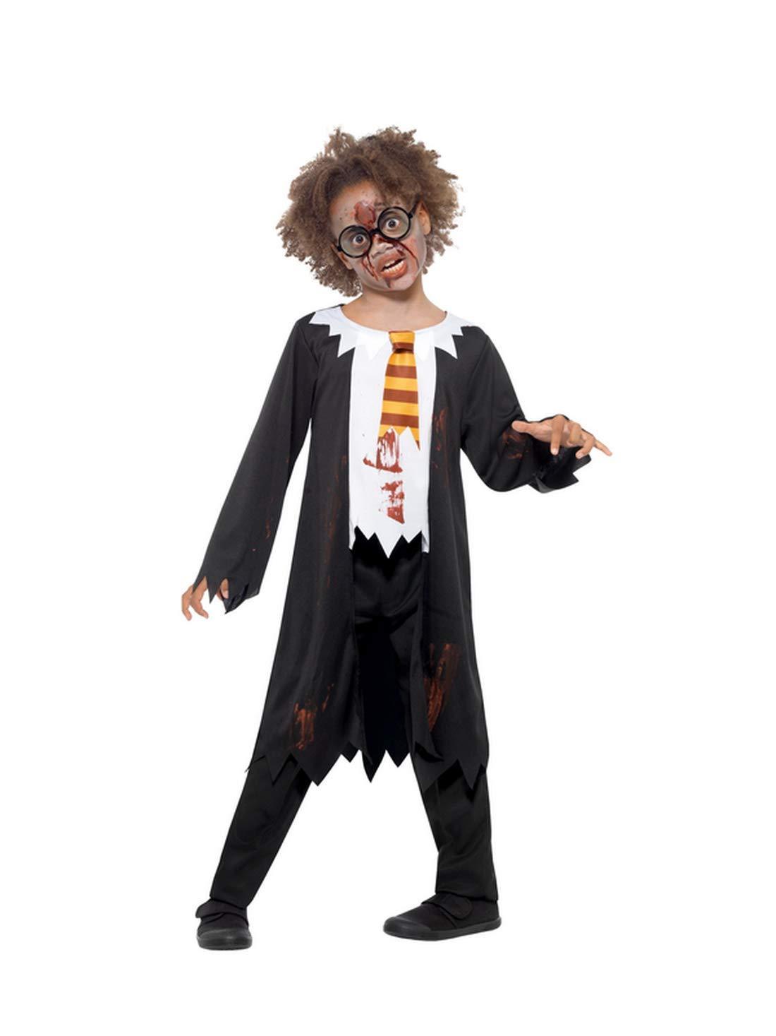 Halloweenia Disfraz de Zombi para niños, Halloween, Carnaval y ...