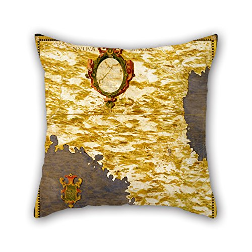 [Loveloveu 16 X 16 Inches / 40 By 40 Cm Oil Painting Egnazio Danti - Mexico Pillow Covers,2 Sides Is Fit For Dining] (Leo Johnson Costume)