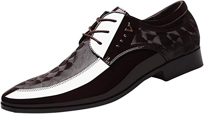 Benficial Men Lace Business Leather
