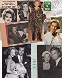 Arlene Dahl Clipping Magazine photos orig M7382