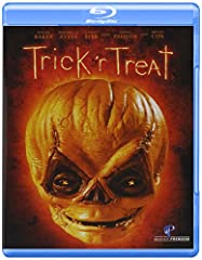 Trick 'R Treat (Rpkg/BD)A creepy, darkly comic celebration of the scariest night of the year from producer BRYAN SINGER (director of X-Men and Superman Returns) and writer-director MICHAEL DOUGHERTY(co-scripter of X2 and Superman Returns). Tr...