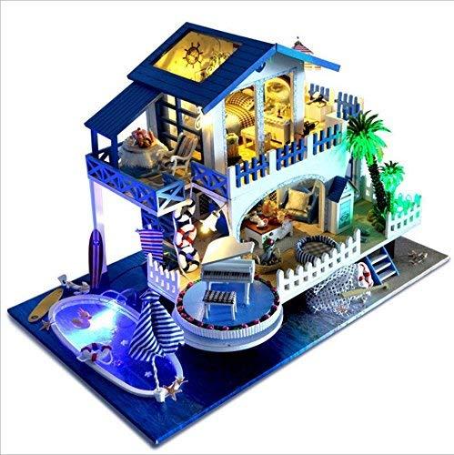 nwfashionブルーSea NWFashion View Assembleクリエイティブかわいい部屋DIY家 NWFashion Blue Melody Blue B0792B67HG B0792B67HG, オオミシマチョウ:ffc22e02 --- alumnibooster.club