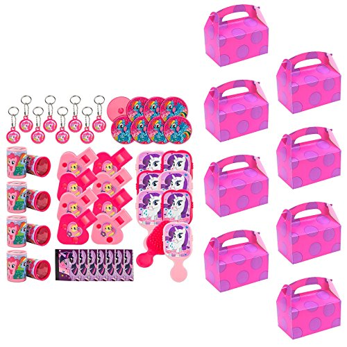 BirthdayExpress My Little Pony Party Supplies Filled Favor