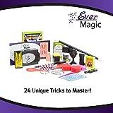 Ever Magic Set - Master Each Trick In Minutes. Includes 24 Magic Tricks, Magician's Box, And Tutorials
